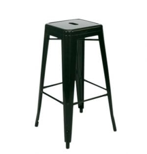 Black Tolic Bar Stool available for Sydney hire.