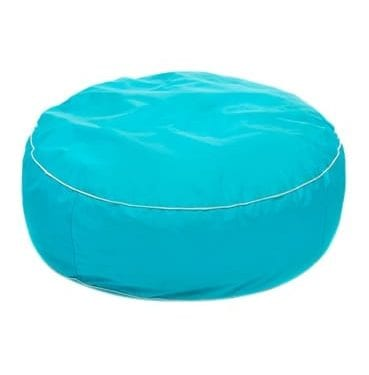 Blue Round Bean bag available for Sydney hire.