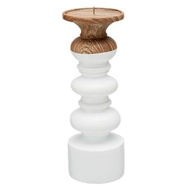 White Hampton Candlestick available for Sydney hire