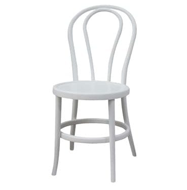 White Bentwood Chair available for Sydney hire.