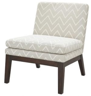 Contemporary Warehouse Chevron Chair available for Sydney hire.