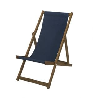 Navy Deck Chair available for Sydney hire