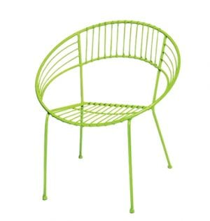 Lime Patio Setting Chair Available for Sydney hire
