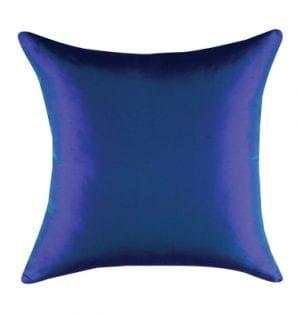 Indigo Silk Cushion available for Sydney hire