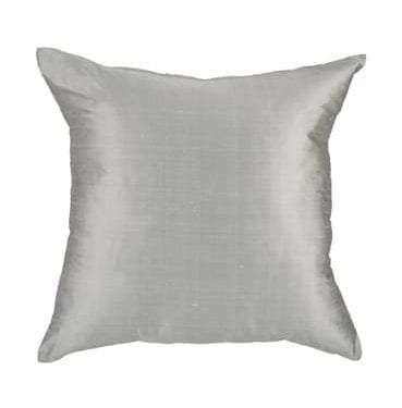 Silver Silk Cushion available for Sydney hire