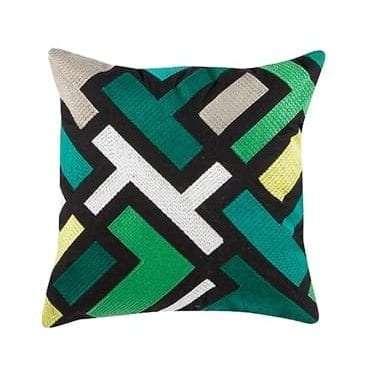 Tajo Green Cushion available for Sydney hire