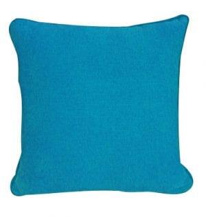 Aqua Textured Cotton Cushion available for Sydney hire
