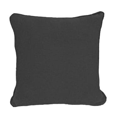 Charcoal Textured Cotton Pillow now available for hire in Sydney, Australia