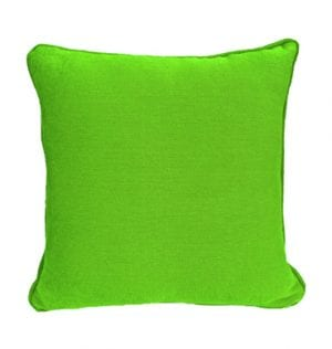 Lime Textured Cotton Cushion available for Sydney hire.