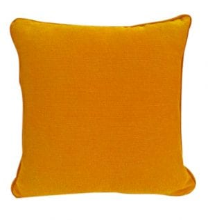 Orange Cotton Cushion available for Sydney hire
