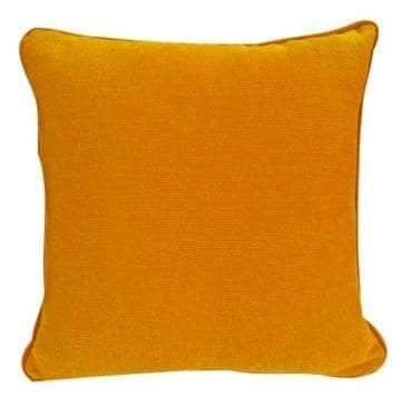 Orange Cotton Cushion available for Sydney hire