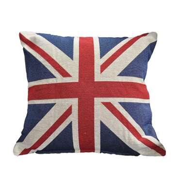 Union Jack Cushion available for Sydney hire