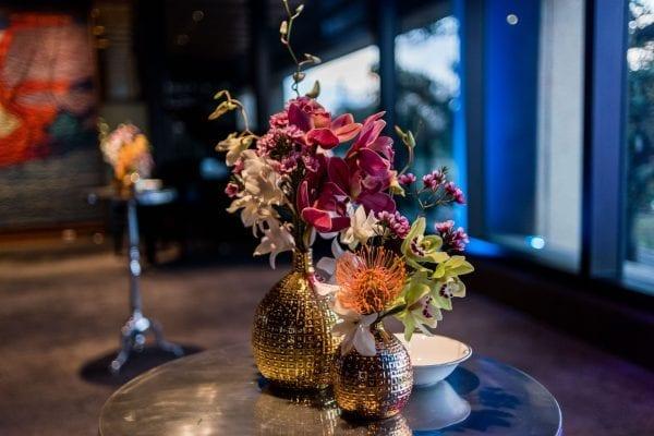 Flowers in Belmont Vases as display example.