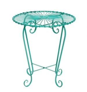 Aqua Patio Setting Side table available for Sydney hire.