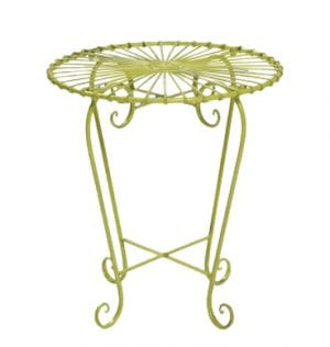 Lime Patio Setting Side Table available for Sydney hire