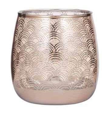 Art Deco Hurricane Vase available for Sydney hire.