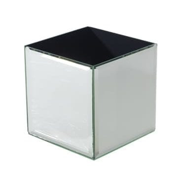 Mirror Box Vase available for Sydney hire