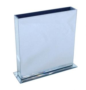ENvelope Mirror Vase available for Sydney hire