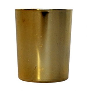 Gold Shiny Votive available for Sydney hire.