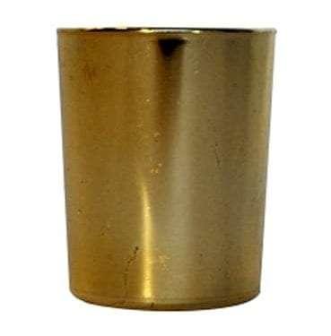 Gold Shiny Votive available for Sydney hire.