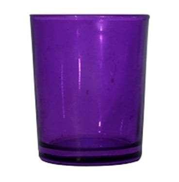Purple Glass Votive available for Sydney hire.