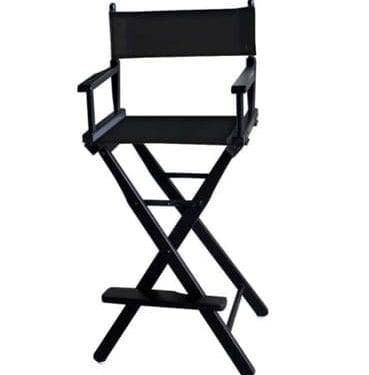 Tall Director Chair available for Sydney hire.
