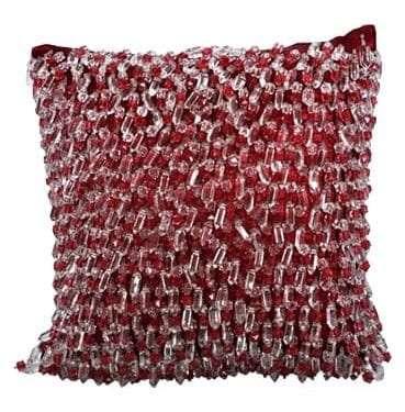 Crystal Beaded Cushion available for Sydney hire
