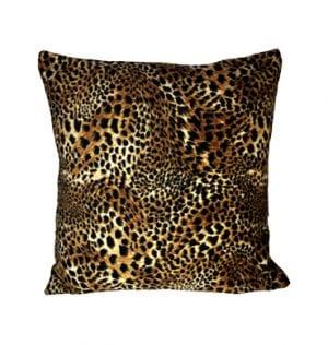 Leopard Print Cushion available for Sydney hire