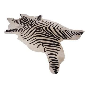 Zebra Rug available for Sydney hire