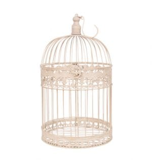 Hanging Birdcage Available for Hire