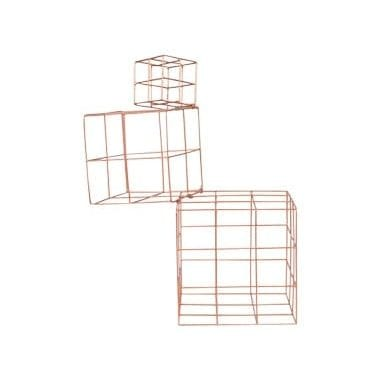 Brass Wire Cube available for hire in Sydney, Australia.