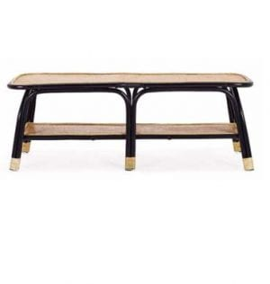 Cher Cane Coffee Table available for hire in Sydney