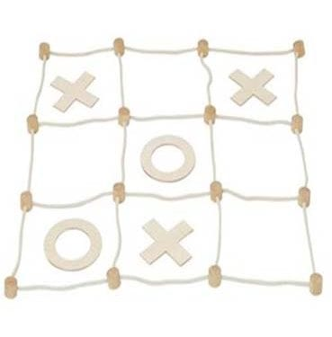 Naughts and crosses game set