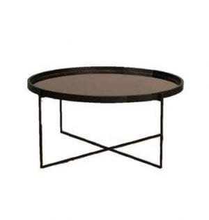 Black Mirage Coffee Table available for Sydney hire