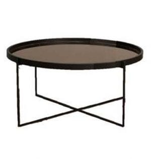 Black Mirage Coffee Table available for Sydney hire.