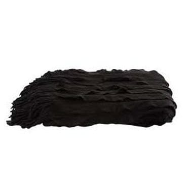 Black Ripple Throw now available for hire in Sydney
