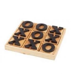 Naughts and Crosses wood set