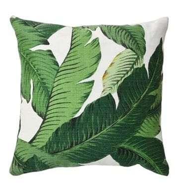 Double-sided Banana Leaf Cushion