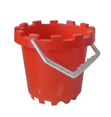 Red Sand Bucket Available for Hire