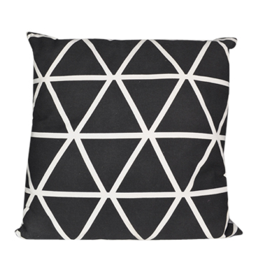 Black and White Diamond Cushion available for Sydney hire
