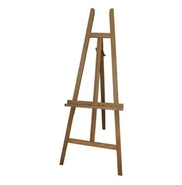 wooden display easel now available for hire in Sydney Australia