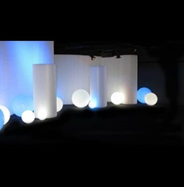 White Molo Walls with Glow Collection