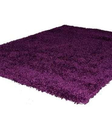 Shag Pile Purple Rug available for Sydney hire