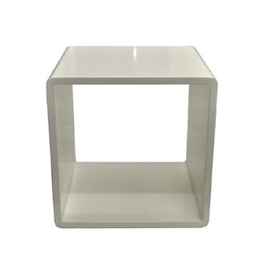 White Square Coffee Table available for Sydney hire