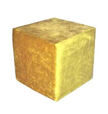 Gold Luxe Velvet Ottoman now available for hire in Sydney Australia