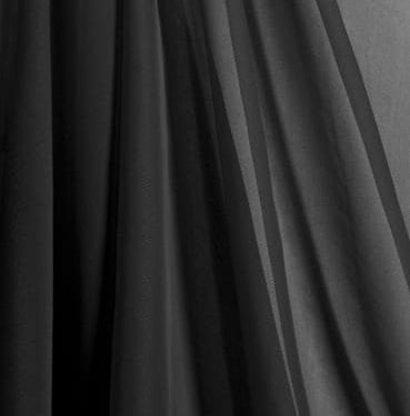 Black Chiffon Draping Available for Sydney Hire.