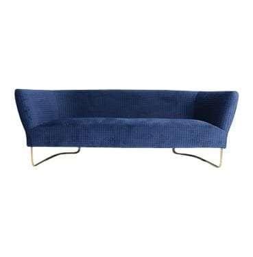 Luxe Royal Blue Lounge Velvet