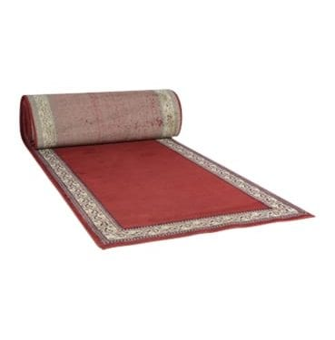 Red Arabian Carpet Runner available for Sydney hire