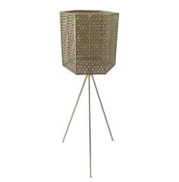 Gold Mesh Tripod Stand Available for Hire in Sydney