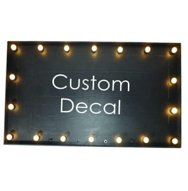 Custom Light Up Sign Available for hire in Sydney